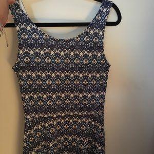 Dresses & Skirts - H&M tribal print skater dress